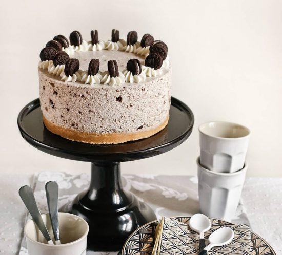 Receta cheesecake de galletas Oreo y nata