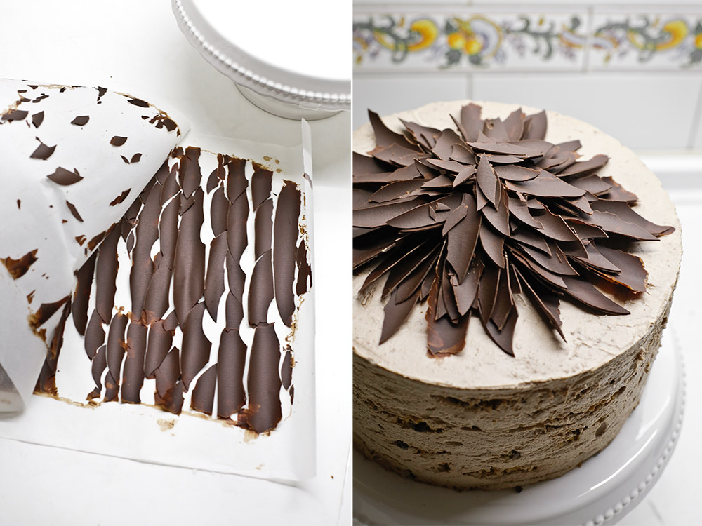 Receta tarta de moca y cookies de chocolate