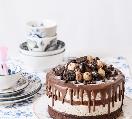 receta tarta helada oreos