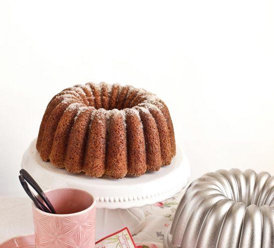 Receta bundt cake de sidra y manzana