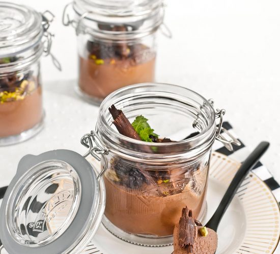 Receta mousse de chocolate vegana