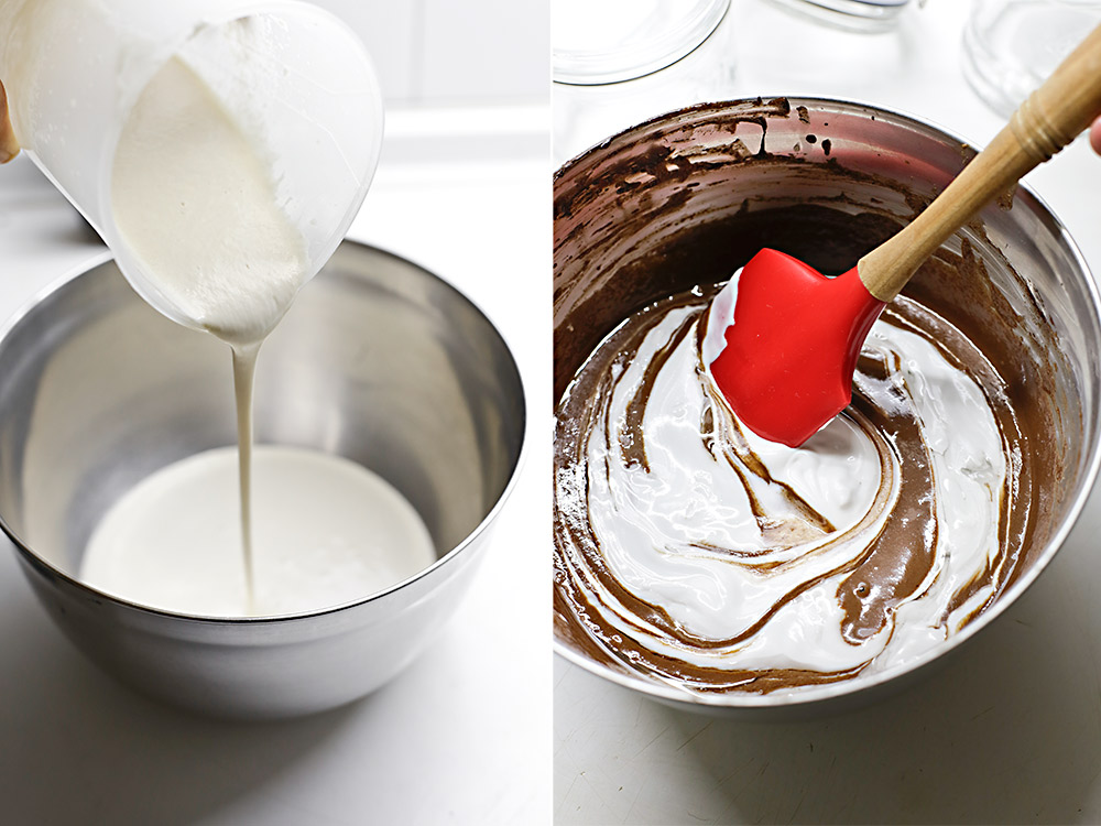 Receta mousse de chocolate vegana