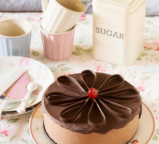 receta tarta yogur chocolate