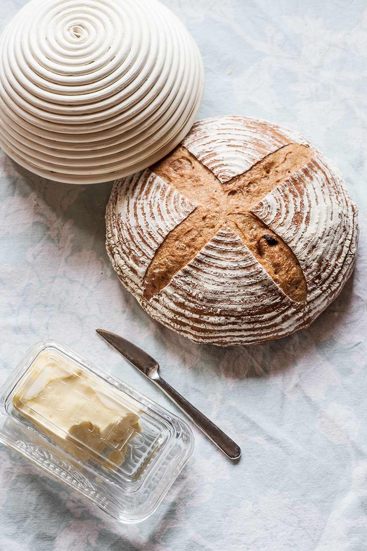 receta pan espelta integral pasas nueces