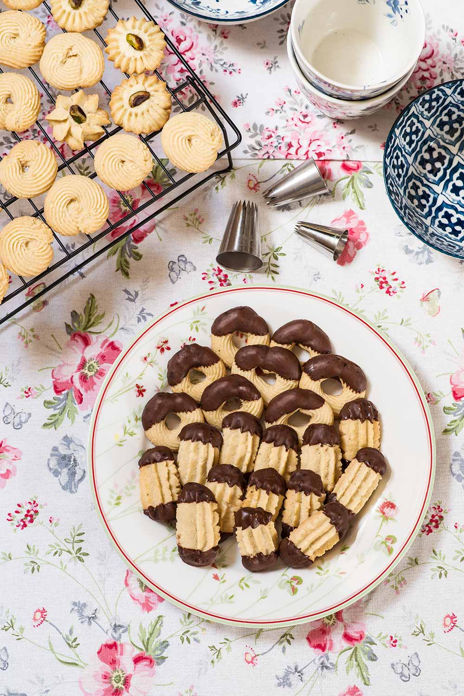 receta pastas rizadas manga pastelera
