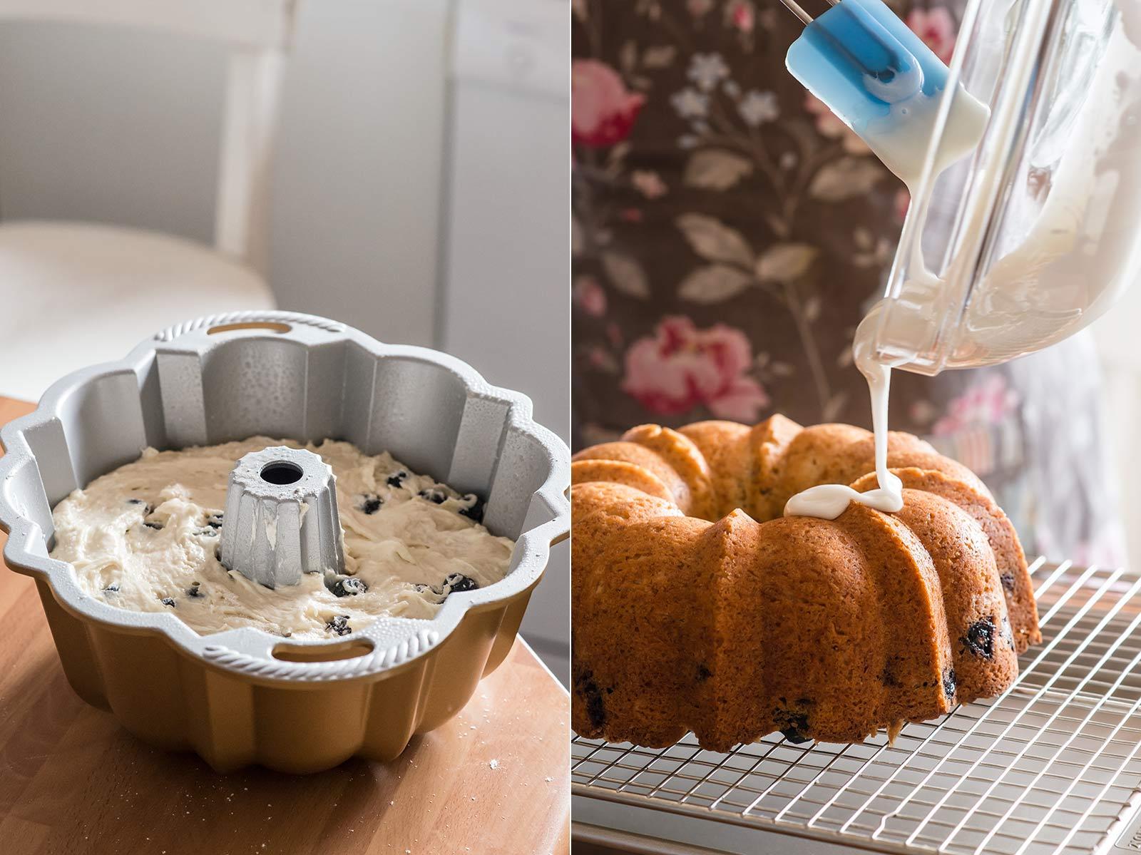 receta bundt cake arandanos buttermilk