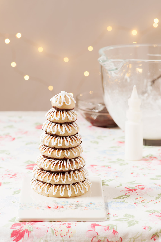 receta kransekage corona danesa navidad