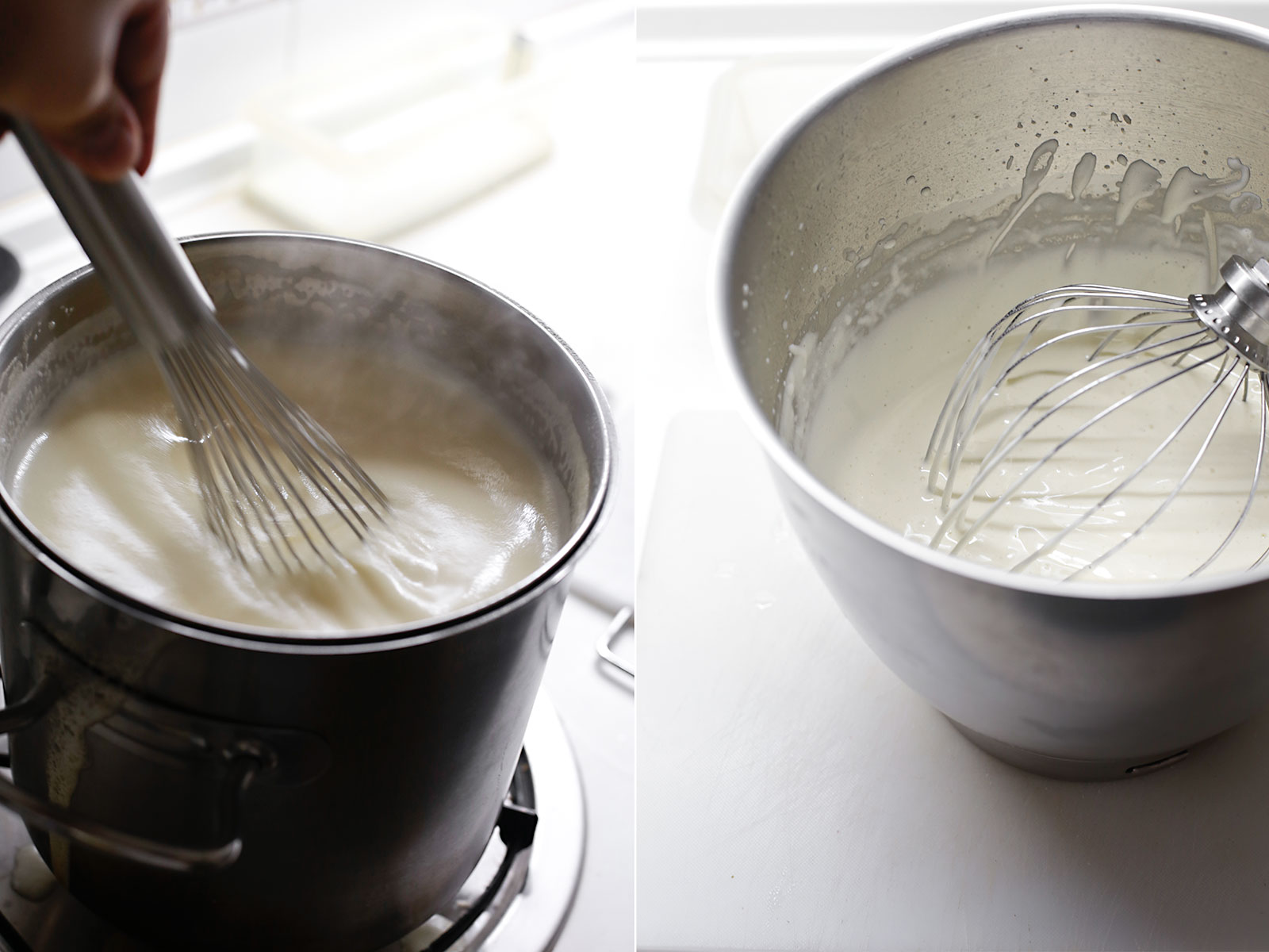 Receta mousse helada de cava