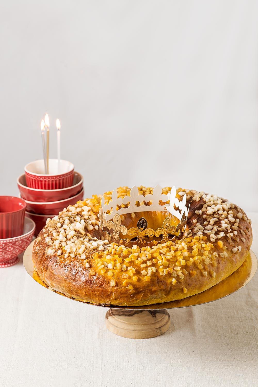 receta roscon reyes calabaza navidad