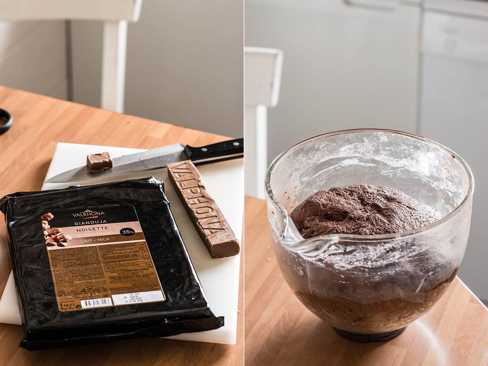 receta stollen navidad chocolate