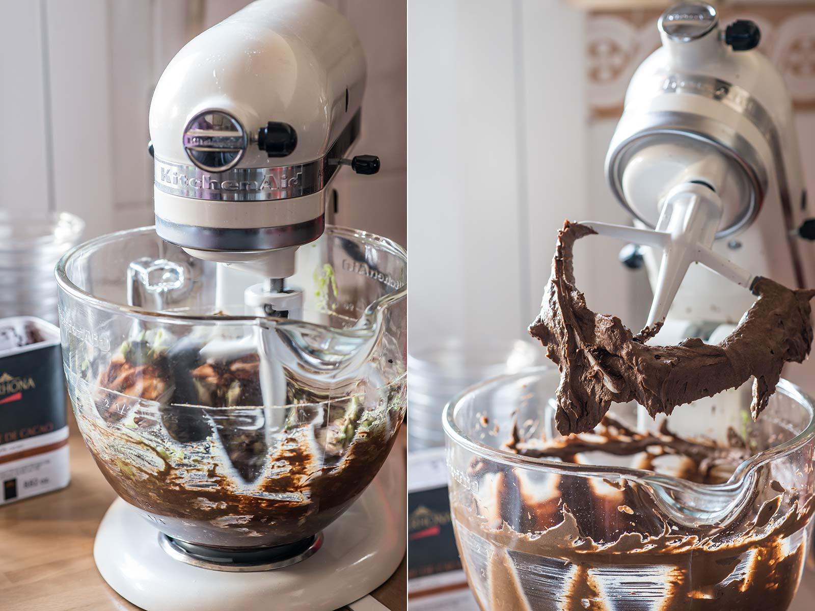 receta crema chocolate aguacate