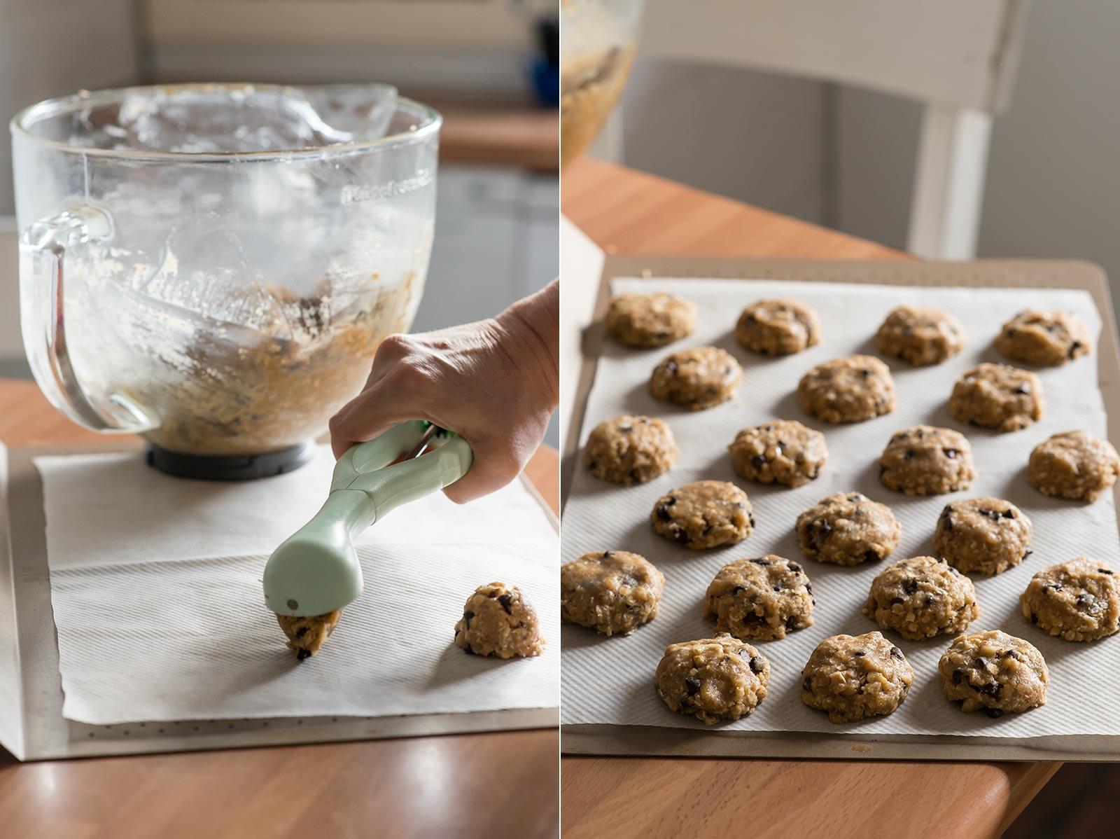 receta galletas avena saludables