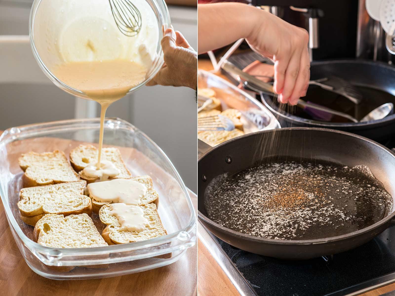 receta pain perdu michalak