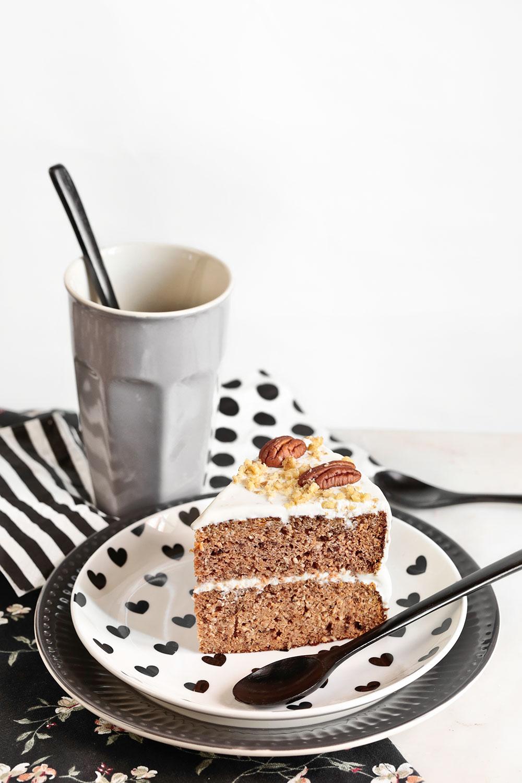 Receta tarta de zanahoria saludable