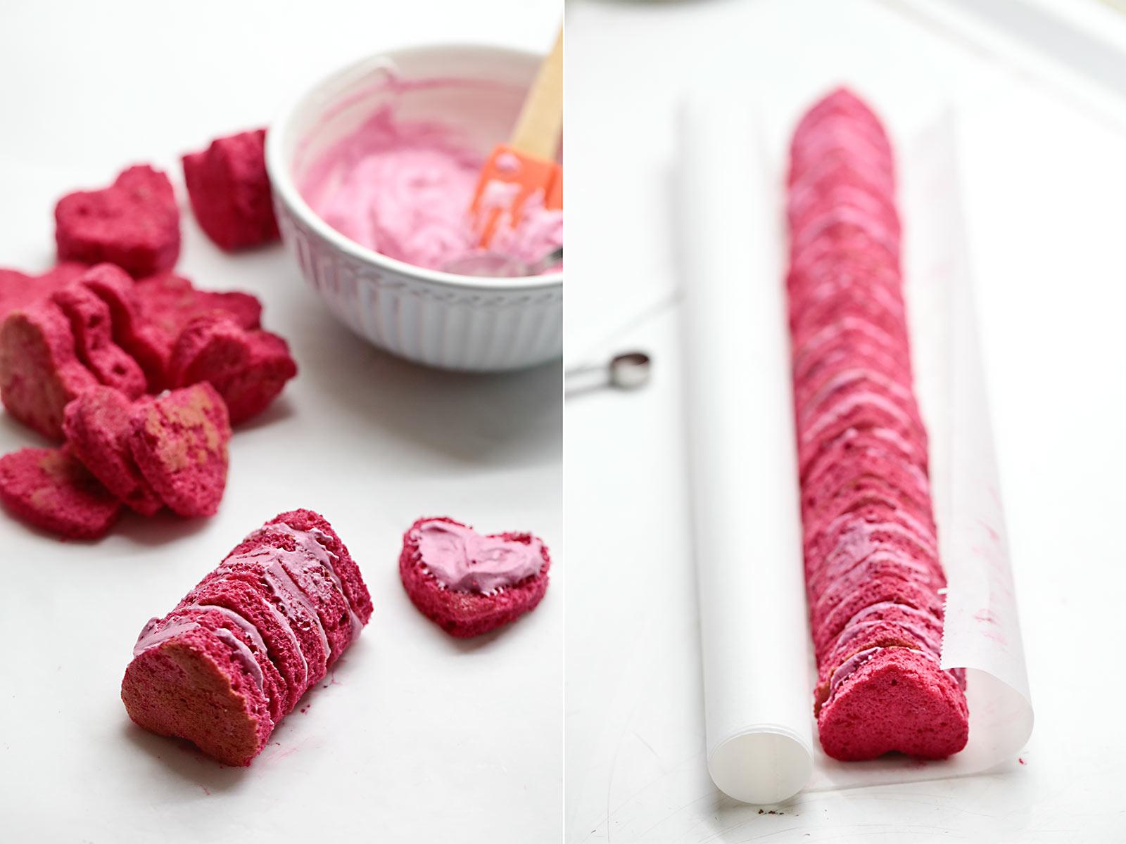 Receta brazo de gitano para San Valentín