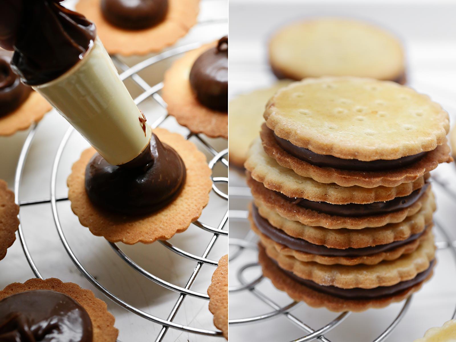 Receta de galletas Principe
