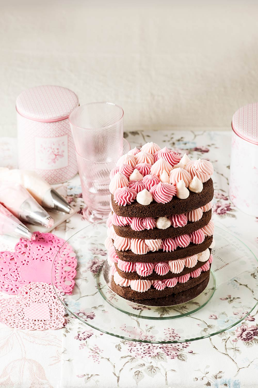 receta tarta corazon san valentin
