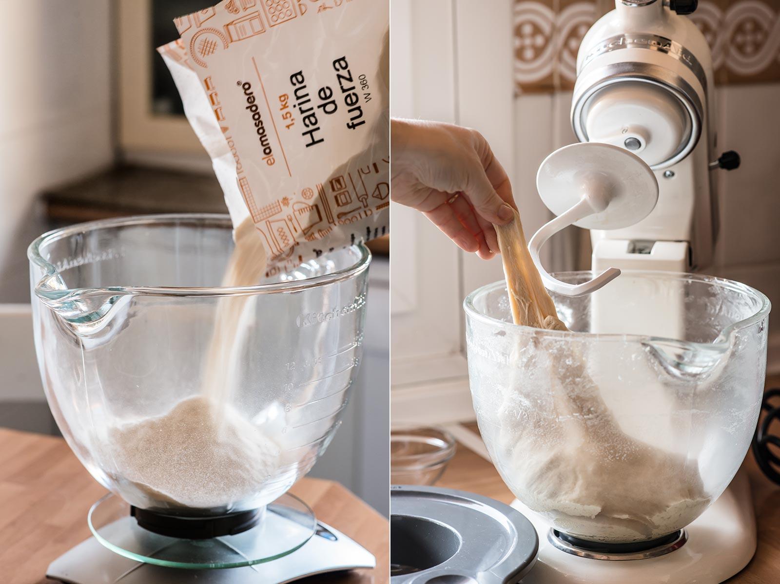 receta cunas crema