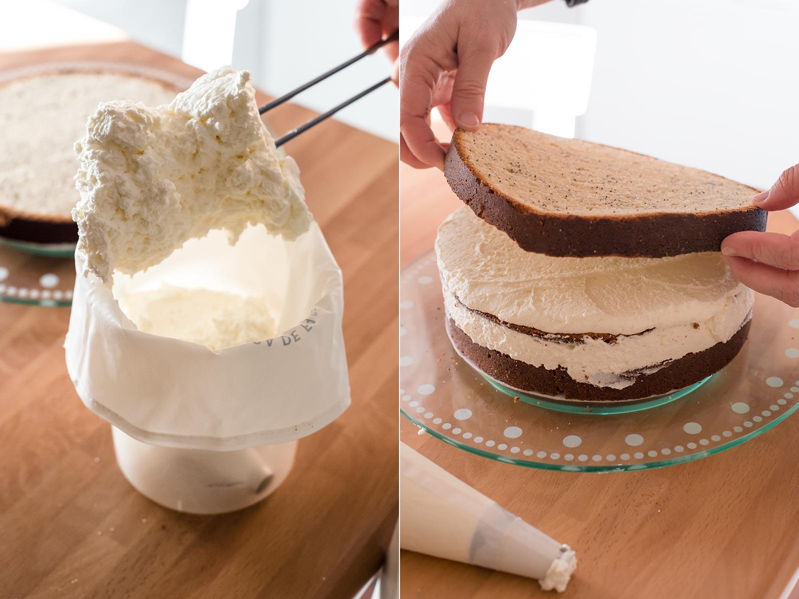 receta layer cake limon semillas amapola