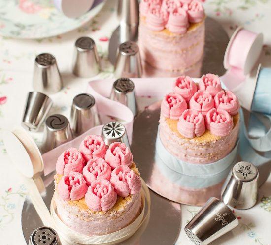receta tarta rosas dia madre
