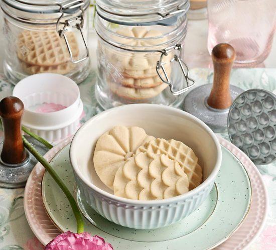 Receta galletas de mantequilla
