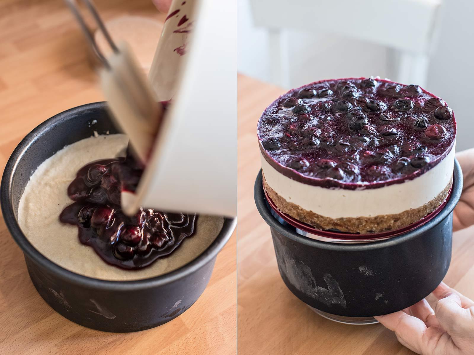 receta cheesecake vegano sin horno