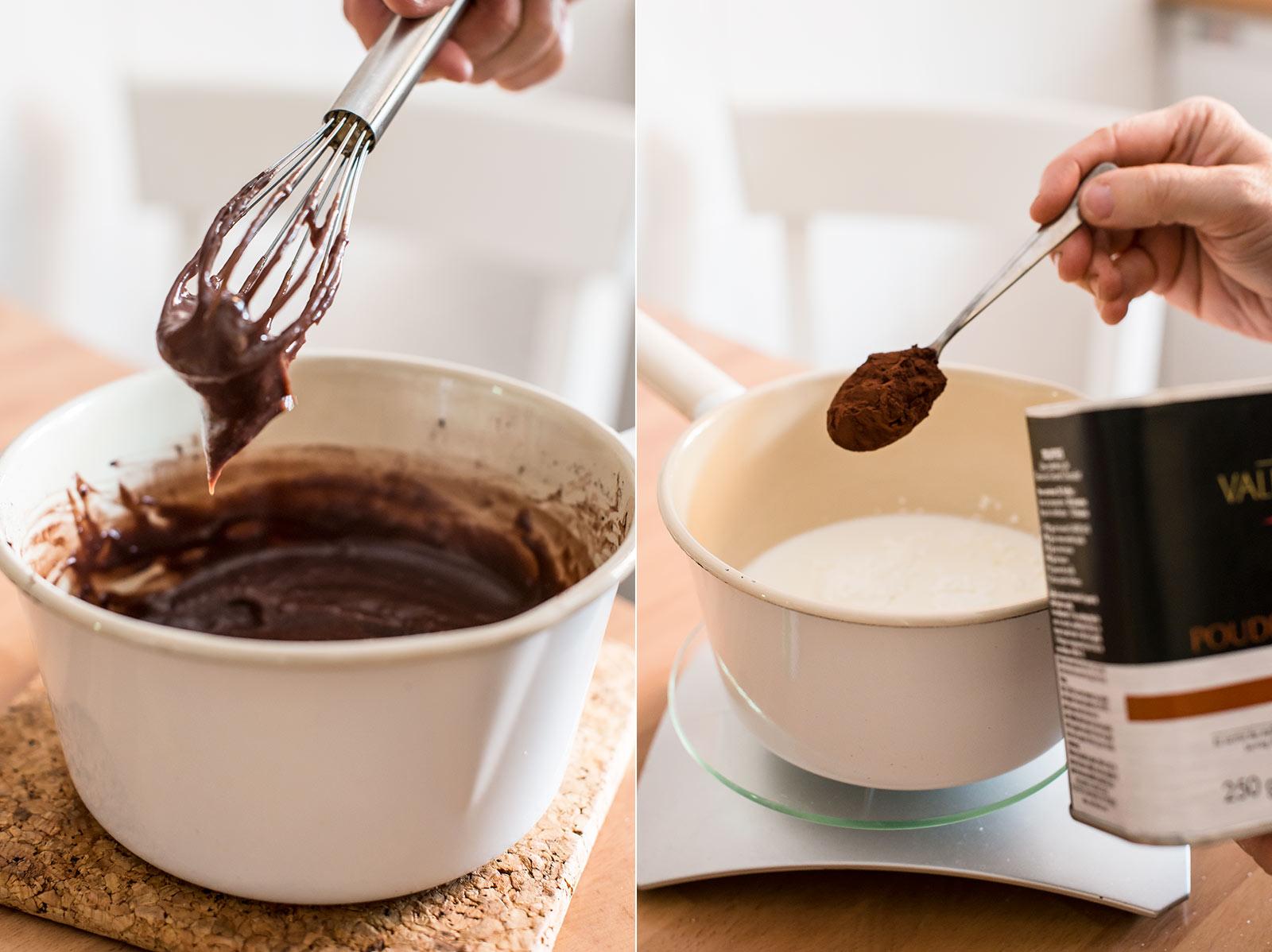 receta coca san juan chocolate