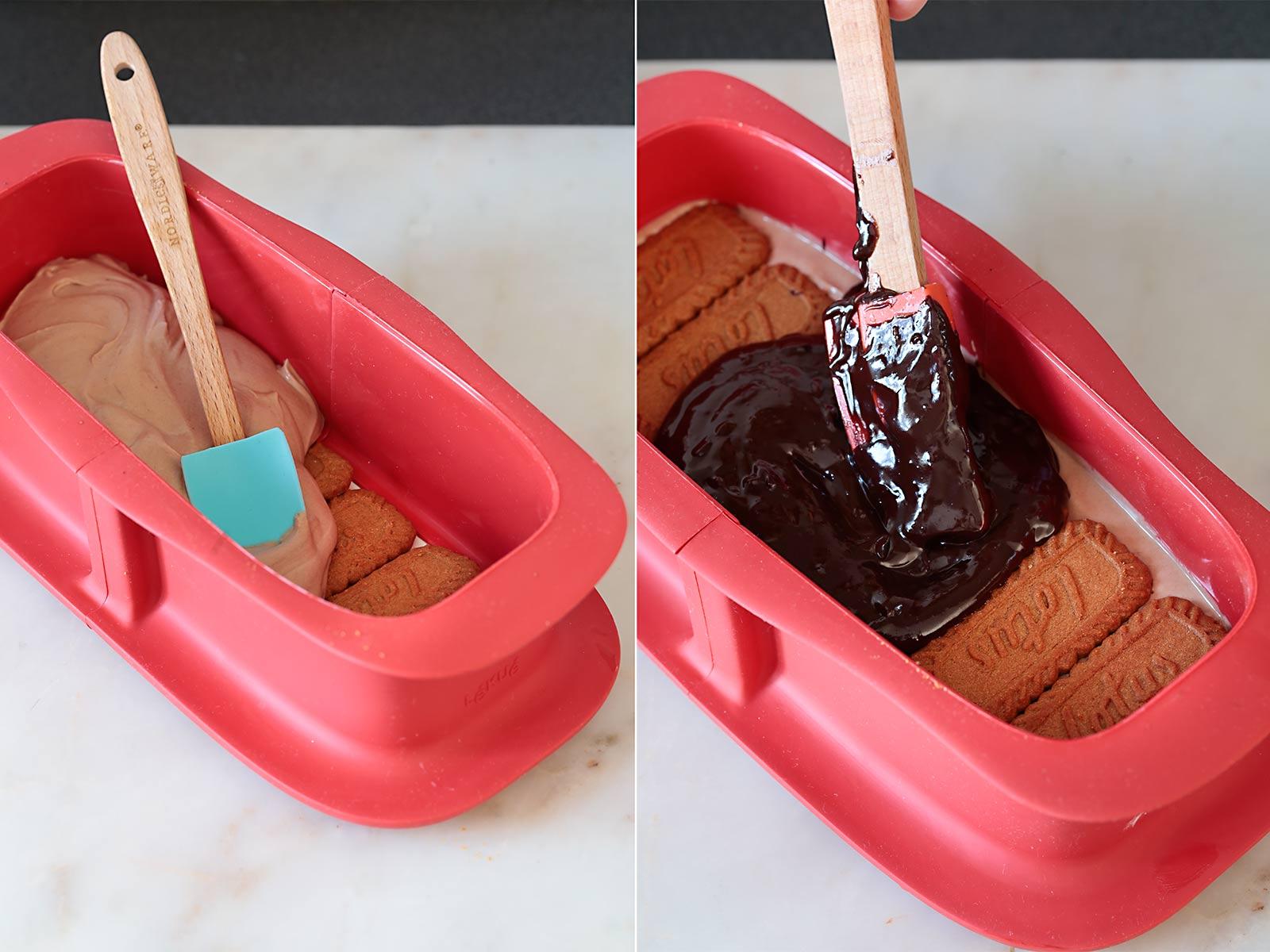 Receta tarta de Nutella y Biscoff