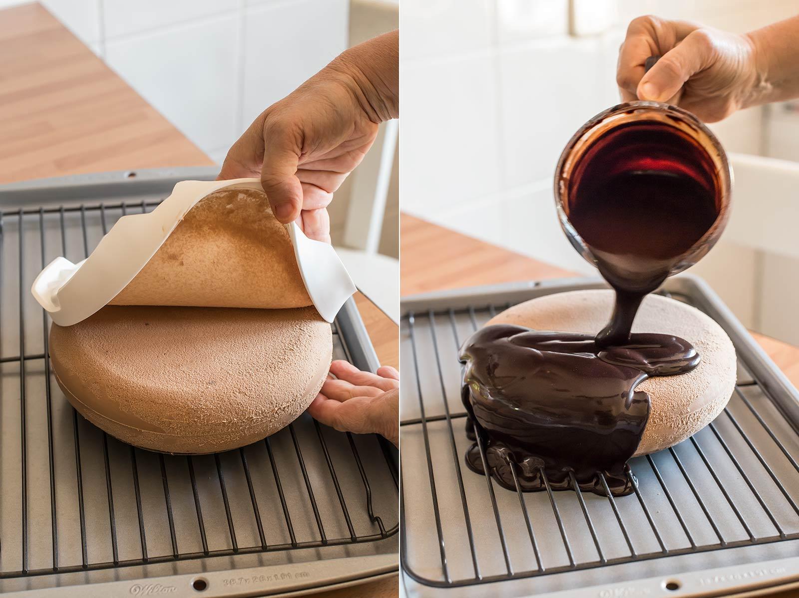 receta tarta mousse fruta pasion gianduja