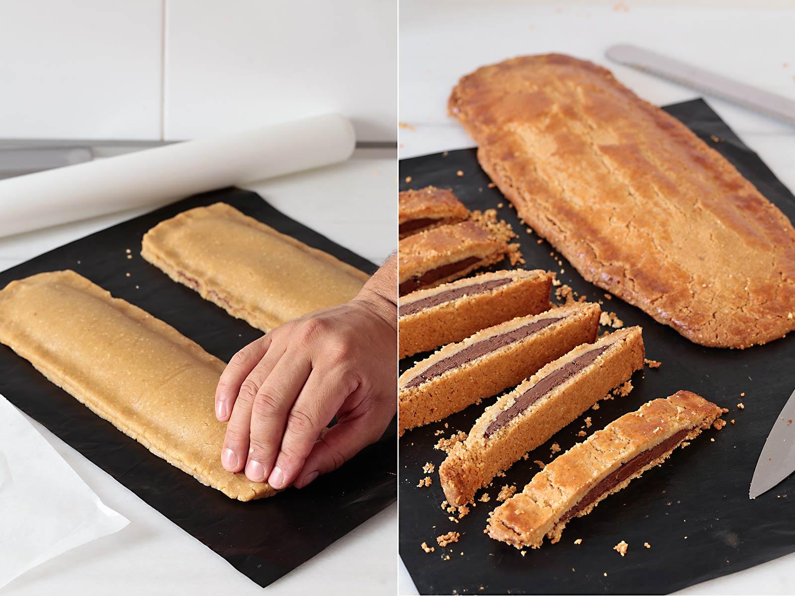 Receta biscotti de Nutella