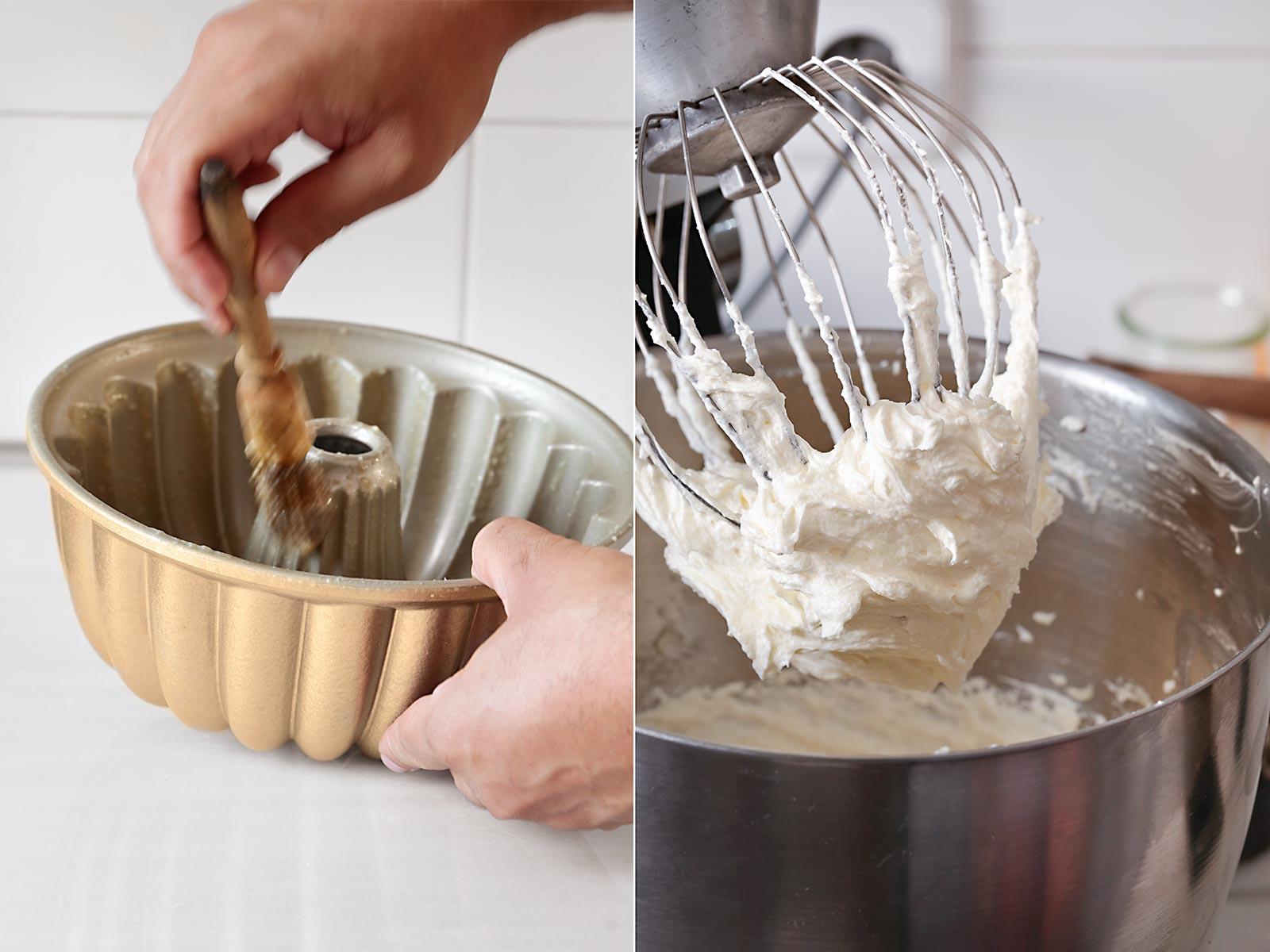 Receta bundt cake de cereales Froot Loops
