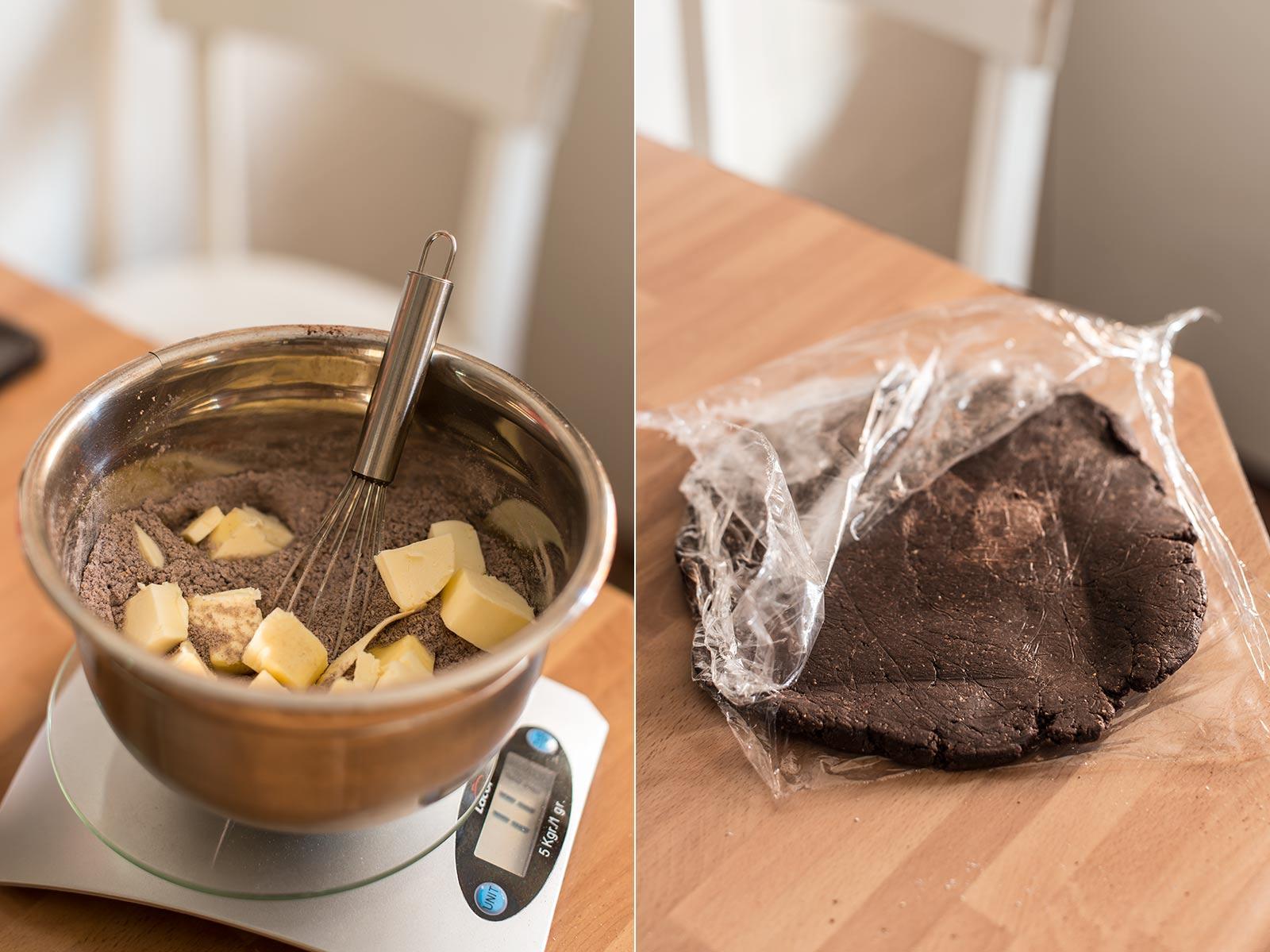 receta galette peras chocolate