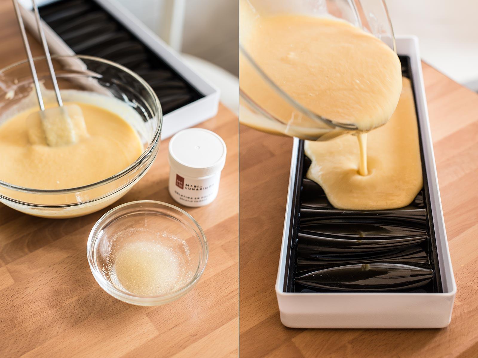 receta semifrio mango coco
