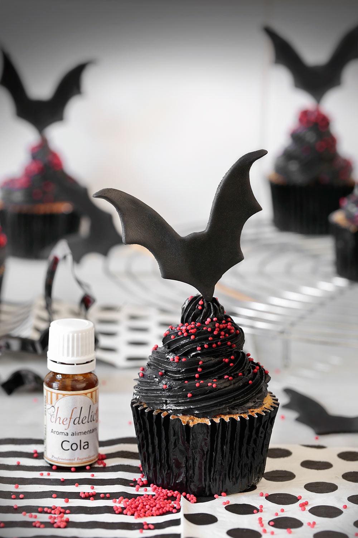 Receta cupcakes Drácula