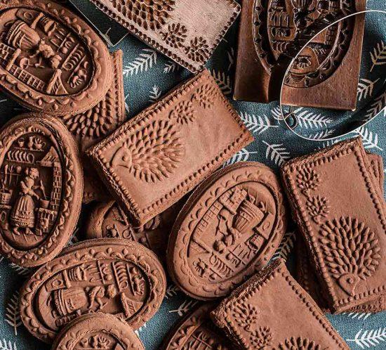 receta galletas springerle chocolate