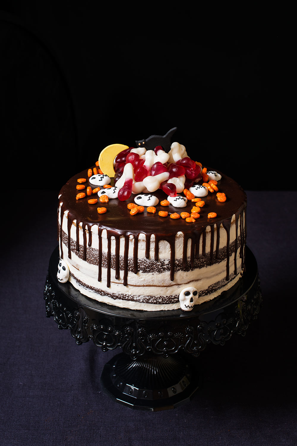 receta layer cake calabaza chocolate