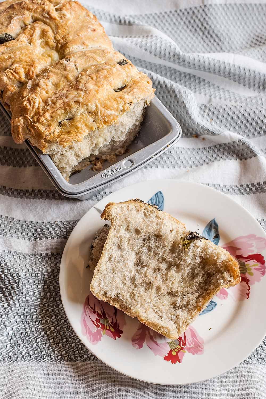 receta pan queso ajo