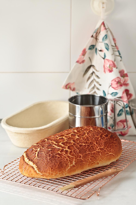 Cómo hacer pan tigre