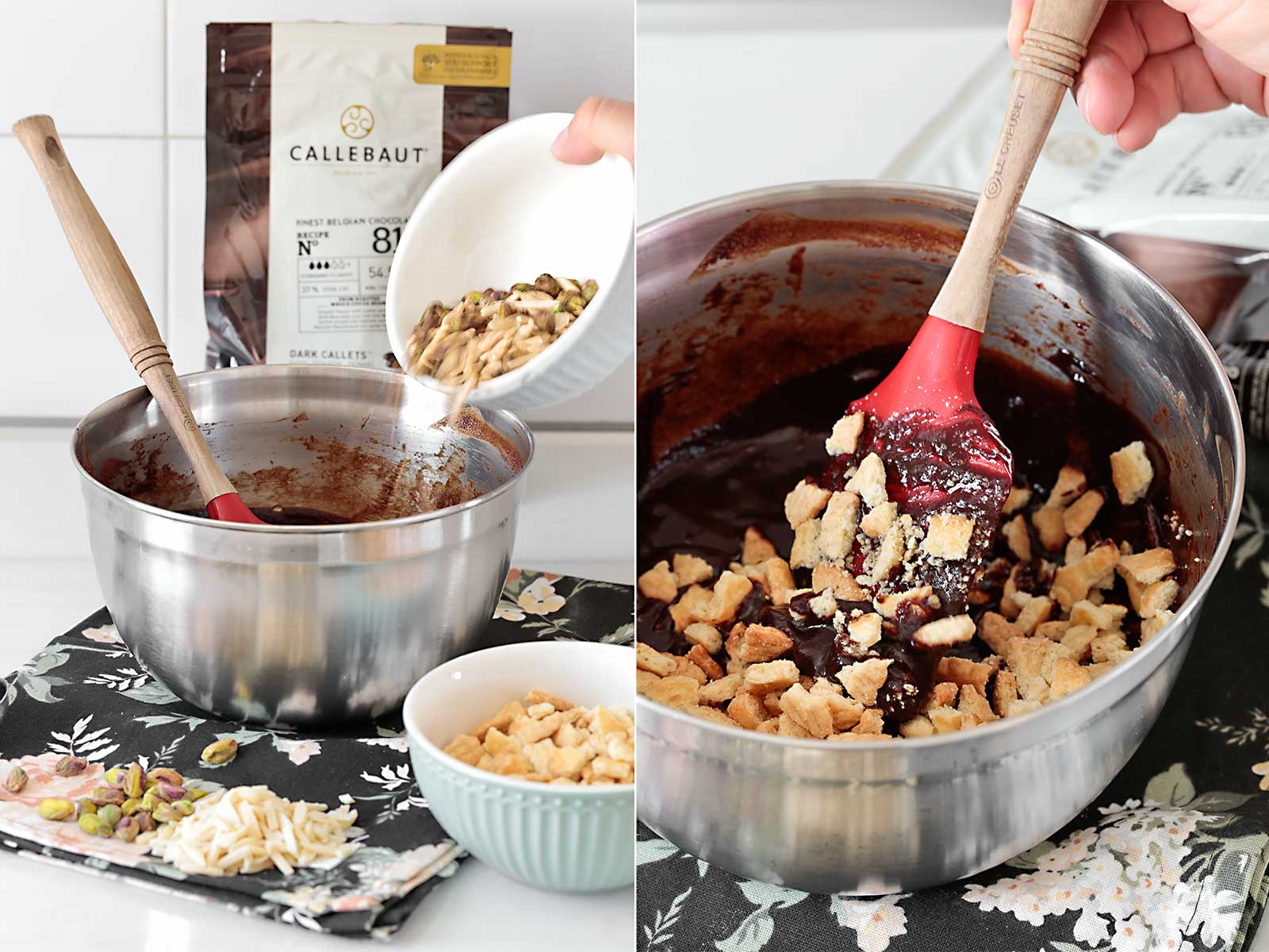 Receta salami de chocolate portugués