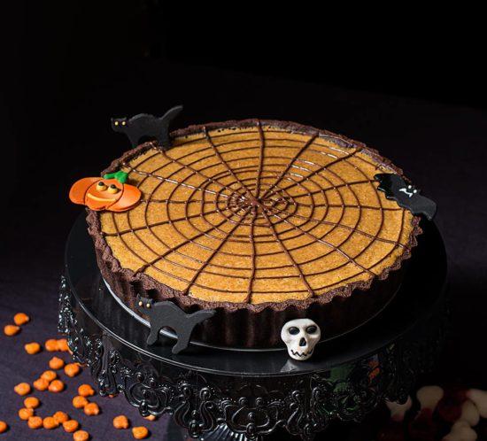 receta tarta telaraña halloween