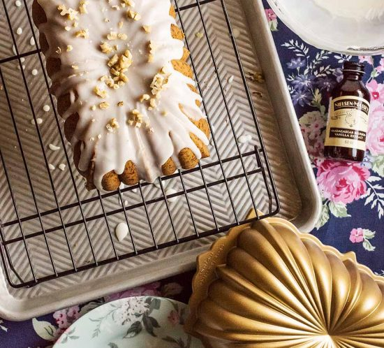 receta bundt cake nueces