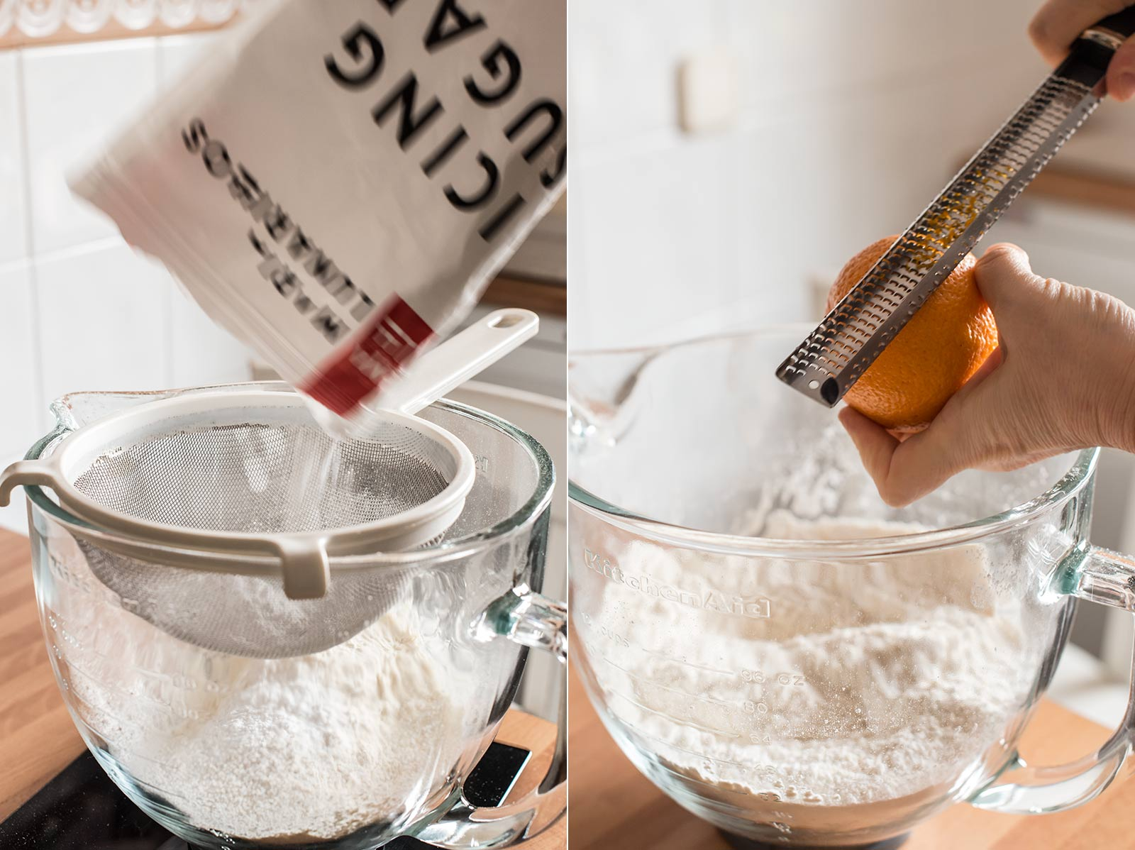 receta mantecados aceite naranja
