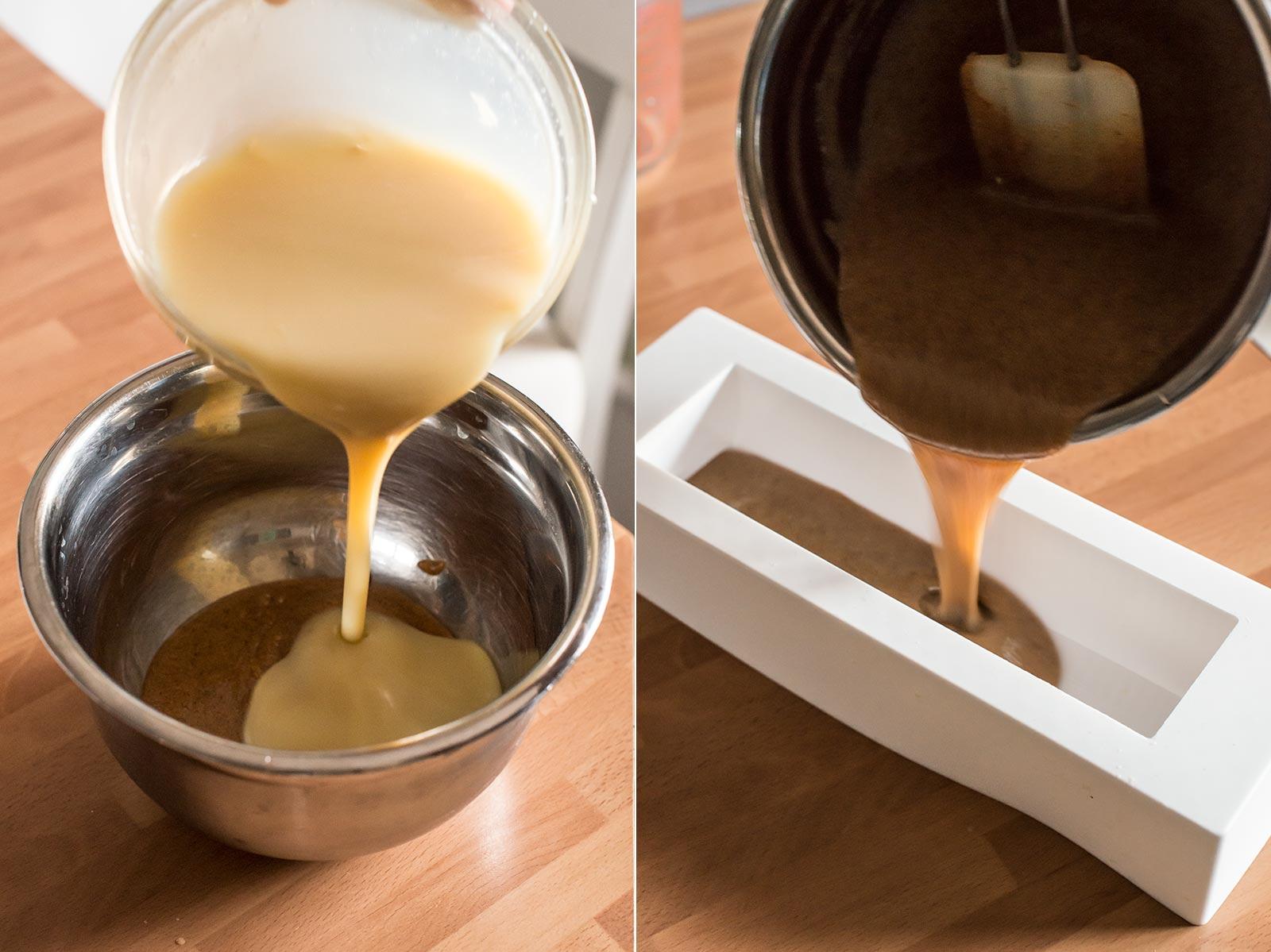 receta buche noel chocolate avellana