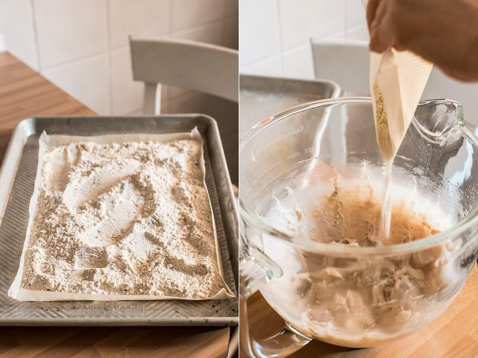 receta polvorones cubiertos chocolate