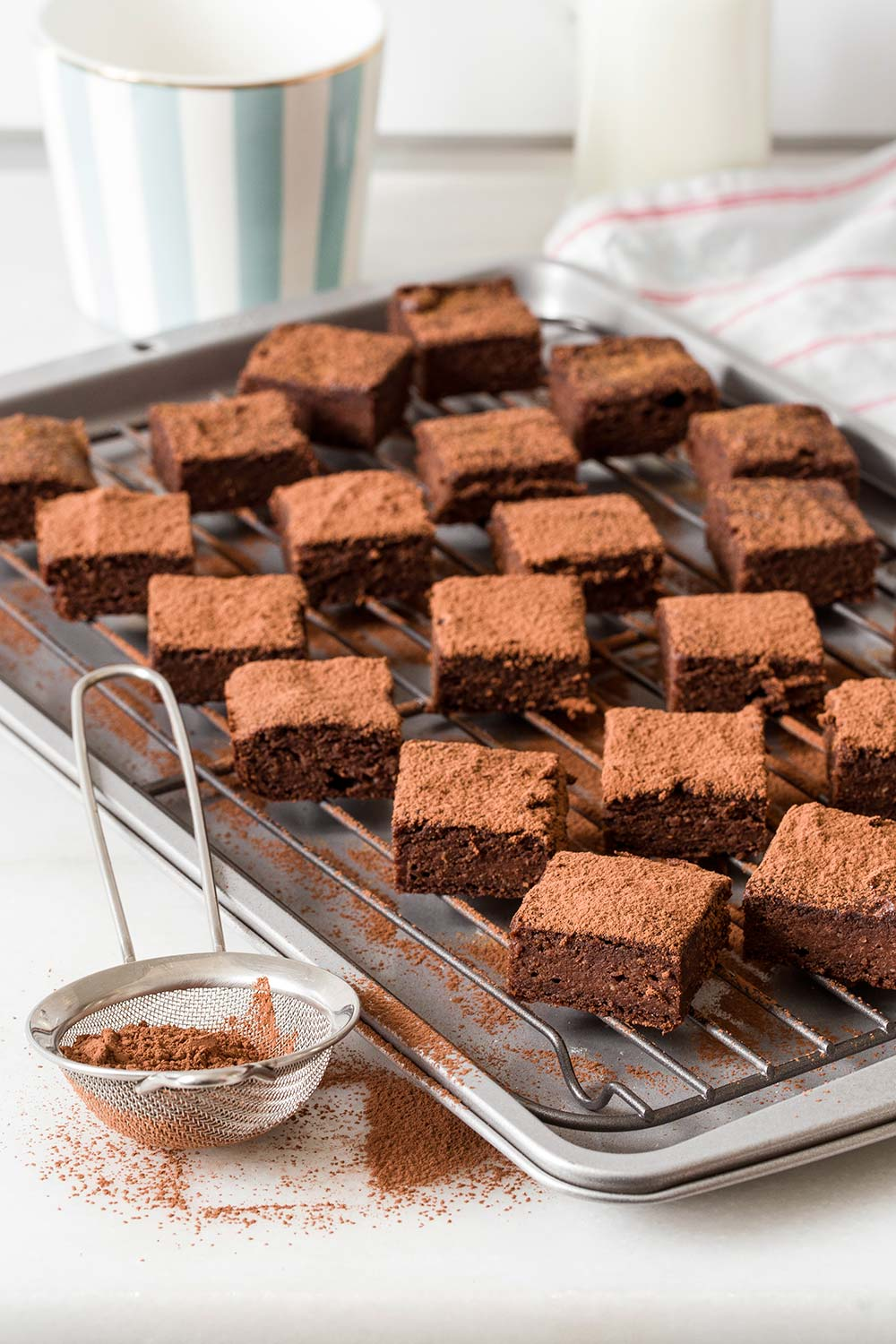 Receta brownie de tres ingredientes