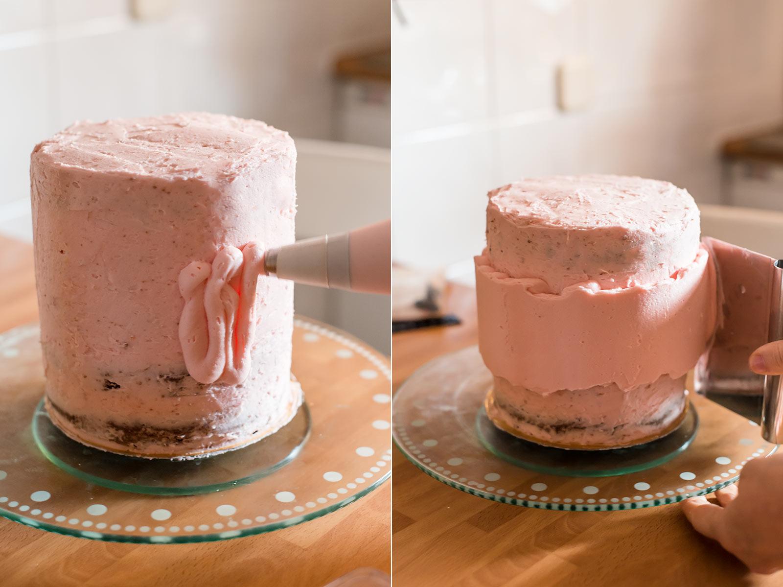 receta tarta fault line