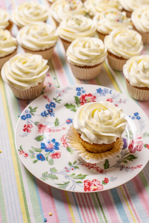 receta cupcakes cruz comunion
