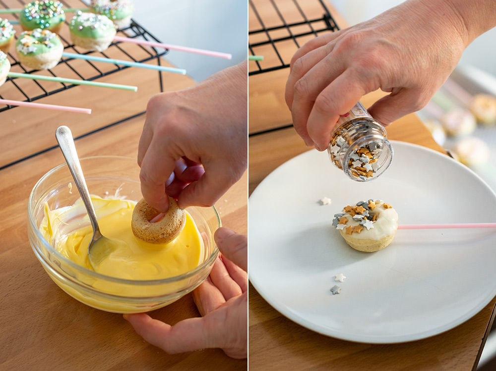 receta minidonuts comunion