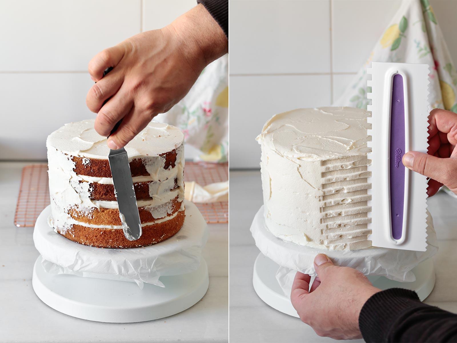 Receta tarta de Primera Comunión