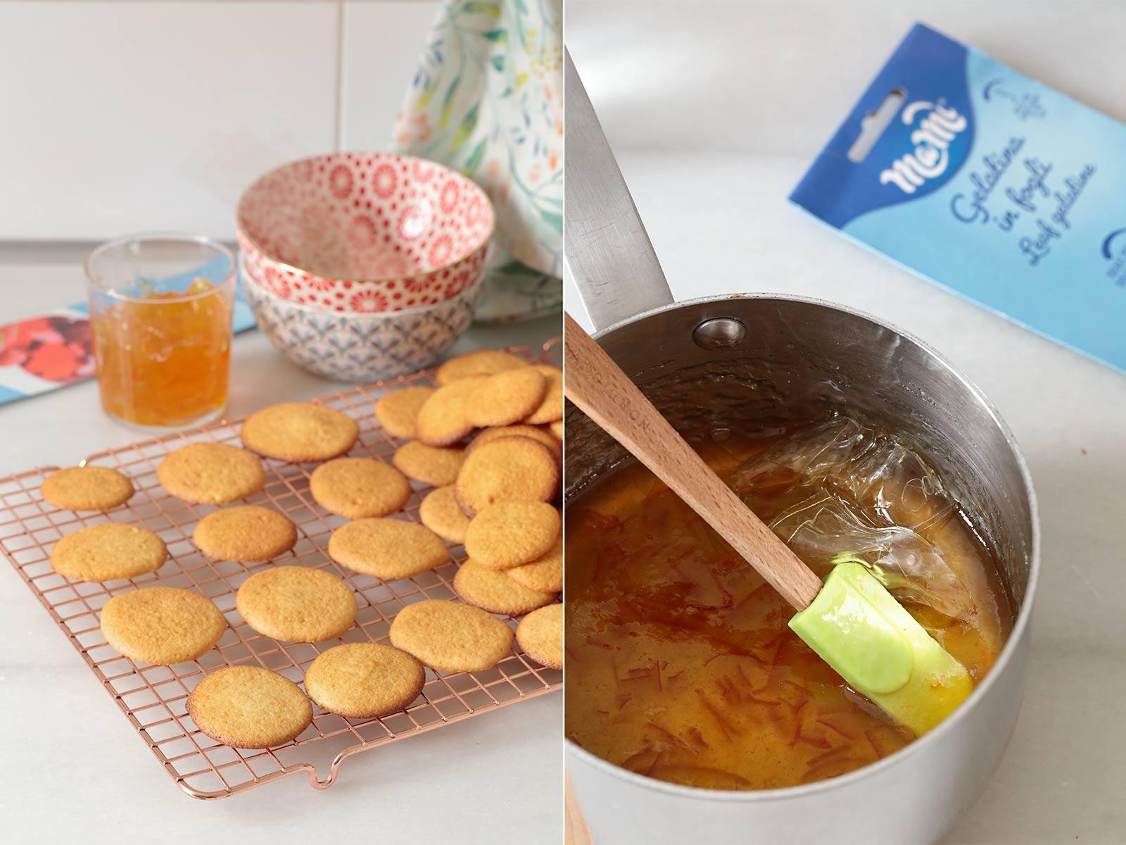 Receta de galletas PiM's de naranja